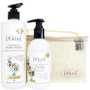 A'kin Citrus Hand & Body Wash Duo