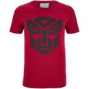 transformers-herren-transformers-black-emblem-t-shirt-rot-s-rot