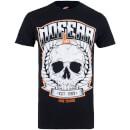 No Fear Men's Skull Wreath T-Shirt - Black