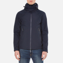 Superdry Mens New Hooded Cliff Hiker Jacket  Eclipse NavyDark Charcoal  L