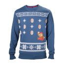 Mario Christmas Jumper – Coins – XL