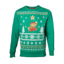 Mario Christmas Jumper – Super Star – S