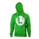 Luigi L Logo Green Hoodie – (L)