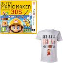 Super Mario Maker for Nintendo 3DS + Mario Breaking Bricks T-Shirt