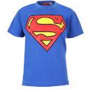 T-shirt Enfant DC Comics Logo Superman - Bleu Roi