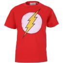 Camiseta DC Comics Flash Logo - Niño - Rojo - 11-12 Years - Rojo Rojo 11-12 Years