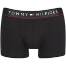Tommy Hilfiger Mens Flex Boxer Shorts  Black  S