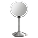 simplehuman-rechargeable-stainless-steel-sensor-mirror-with-travel-case-10x-magnification-12cm