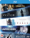 Universal Pictures Blu-ray Starter Pack Includes The Witch/Crimson Peak/Maggie/The Visit/Unfriended
