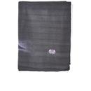 Image of Spiral Bright Eyes Fleece Blanket - Black