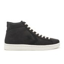 Converse Men's CONS Pro Leather '76 Mid Top Trainers - Black/Egret - UK 8 - converse - thehut.com