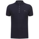 Dissident Men's Dunraven Polo Shirt - Dark Sapphire