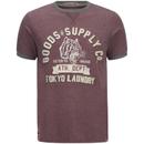 Tokyo Laundry Camiseta Tokyo Laundry Tiger Lake - Hombre - Granate - L - Burdeos Burdeos L