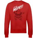 get-merry-christmas-sweatshirt-rot-xxl-rot