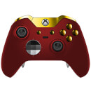 Custom Controllers Xbox One Elite Controller - Red Velvet & Gold