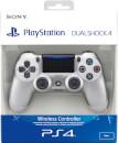 Sony PlayStation 4 DualShock 4 V2 Silver - sony - zavvi.com