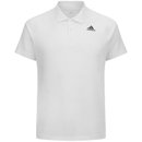 adidas Men's Essential Polo Shirt White XXL