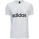 adidas Men's Essential Big Logo T-Shirt White XXL