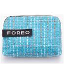 FOREO Tweed Cosmetic Pouch - Blue (Free Gift)