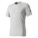 Adidas ID Stadium men's training t-shirt (grey-black) M