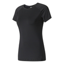 adidas Speed T-shirt, Zwart, L, Female, Training