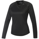 adidas Women's D2M Long Sleeve Top Black XS