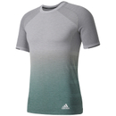 Adidas Primeknit Wool men's running t-shirt (grey) M