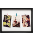 washing-line-3-peg-photo-frame-black