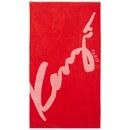 KENZO Signe Beach Towel - Rouge - kenzo - thehut.com