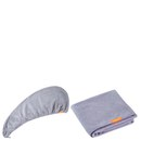 Aquis Lisse Luxe Hair Turban and Hair Towel - Cloudy Berry Bundle