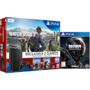 Sony PlayStation 4 Slim 500GB Console - Includes Watchdogs and Watchdogs 2 & Mass Effect Andromeda