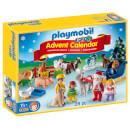 Calendrier de l'Avent 1.2.3 Noël à la ferme (9009) - Playmobil