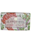 Nesti Dante Il Frutteto Red Grapes and Blueberry Soap 250g