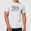 beer-pressure-mens-t-shirt-l-grau