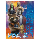 Pyramid Guardians of the Galaxy Vol. 2 (The Guardians) 60 x 80cm Canvas Print Multi
