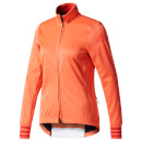 adidas Women's Adistar Long Sleeve Winter Jersey Coral S Coral