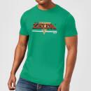 nintendo-the-legend-of-zelda-retro-logo-t-shirt-grun-s-grun