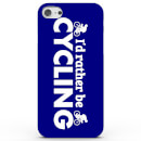 Coque iphone android id rather be cycling 4 couleurs samsung galaxy s7 bleu