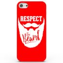 Coque iphone android respect the beard 4 couleurs iphone 7 rouge