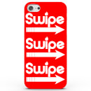 Coque iphone android swipe right 4 couleurs iphone 66s rouge
