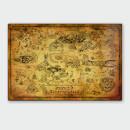 nintendo-legend-of-zelda-map-chromalux-high-gloss-metal-poster