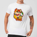 T-Shirt Homme Bowser Kanji Nintendo - Blanc