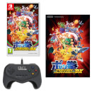 Pokkén Tournament DX + Pokkén Tournament DX Pro Pad Controller + A2 Poster