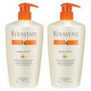 Kérastase Nutritive Bain Satin 2 Shampoo 500ml Duo