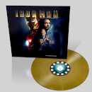 Marvel Iron Man: The Original Motion Picture Soundtrack OST – Zavvi Exclusive - Limited Coloured Gold Vinyl (500 Worldwide Only)