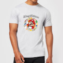 nintendo-super-mario-merry-christmas-wreath-t-shirt-grau-l-grau