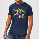 nintendo-super-mario-good-guys-happy-holidays-t-shirt-navy-s-marineblau