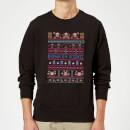 nintendo-donkey-kong-retro-black-christmas-sweatshirt-m-schwarz, 28.99 EUR @ sowaswillichauch-de