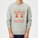 nintendo-super-mario-mario-ho-ho-ho-it-s-a-me-grey-christmas-sweatshirt-s-grau