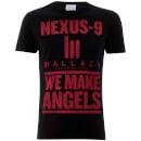 Camiseta Blade Runner  We Make Angels  - Hombre - Negro - S - Negro Negro S